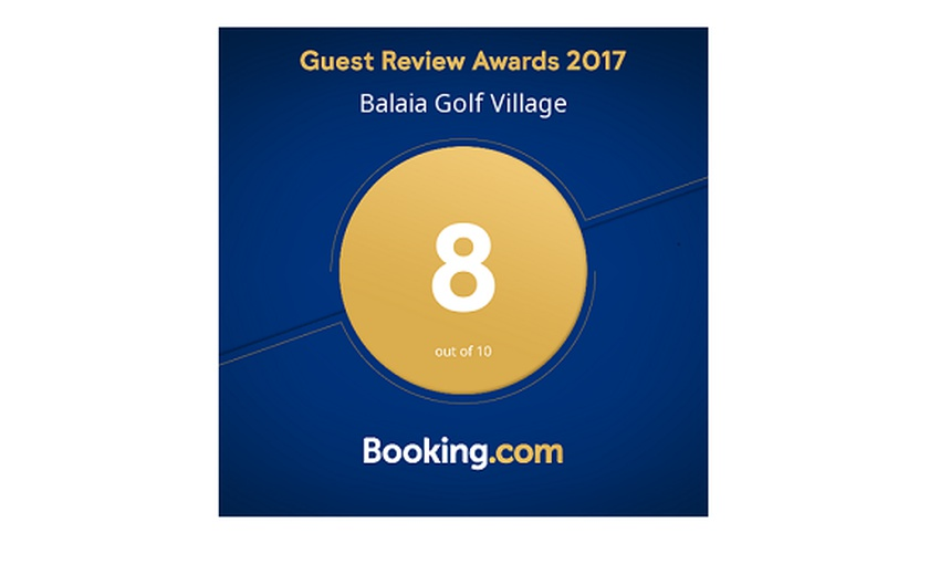 GUEST REVIEW AWARDS 2017 Hotel Balaia Golf Village Resort & Golf Albufeira